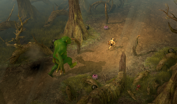 Legends of Firestorm - Taking the troll for a walk