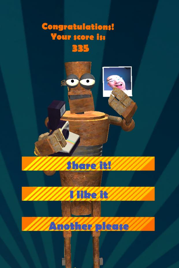 TapTre frenetic tap game screenshot