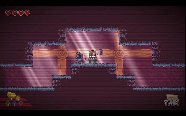 CoinOp Story Underground Save Point