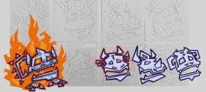 Dragon Area Concept Art