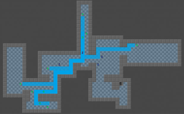 First Successful Pathfinding Test