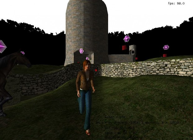 OpenTomb development screenshots