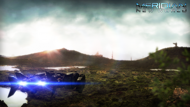 Screenshot from Meridian intro