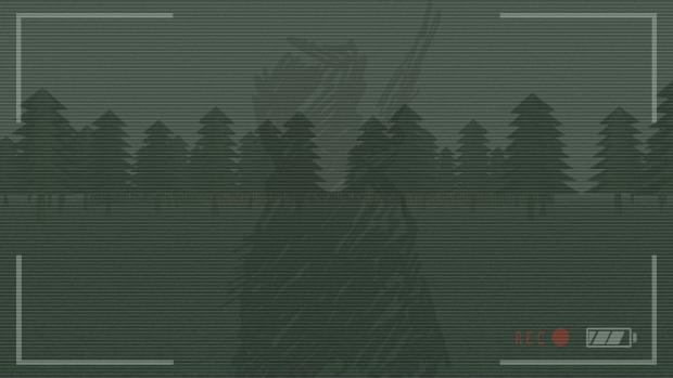 Strange symbols appearing in the viewfinder