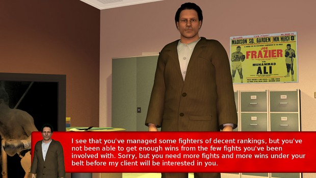 Boxing Manager Game - Boxer Agent