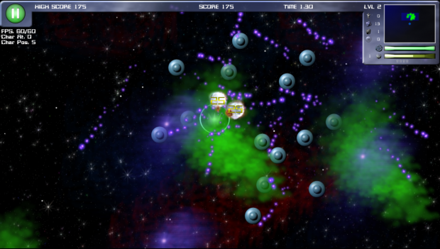 UFO formation attacking base!