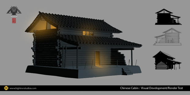 Chinese cabin