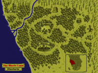 The Waste Land - Kinstaria map