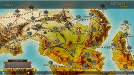 Hartacon Tactics - World Map