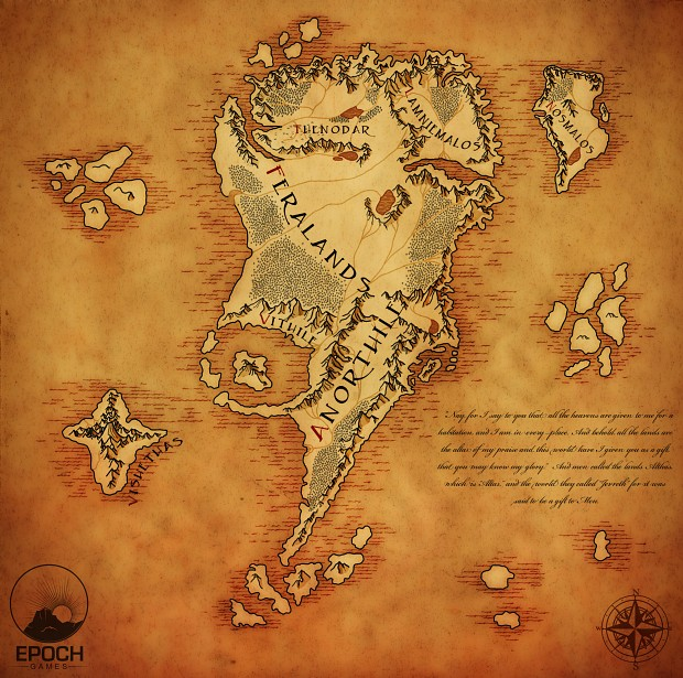 The continent of Althas