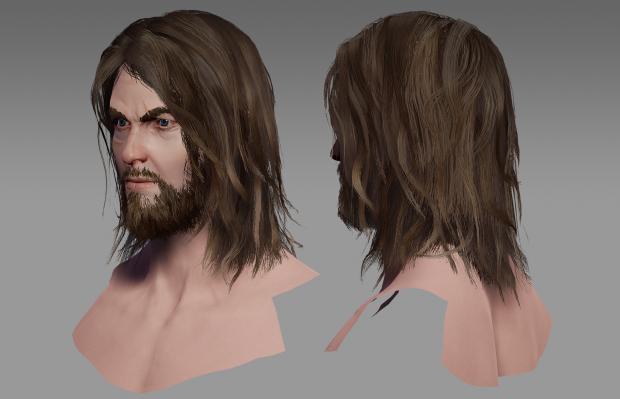 Bordrand Head: 3D Render