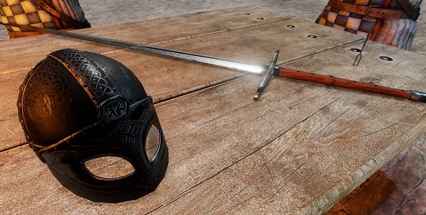 Holnas Claymore and Clan Wulfas Helm