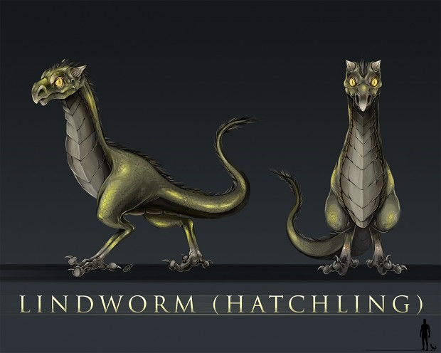 Hatchling Lindworm