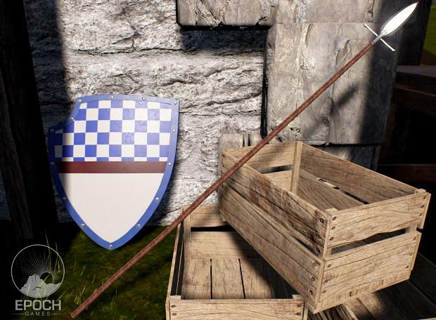 A Spear & Shield
