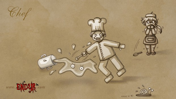 Endyr wallpapers: Chef