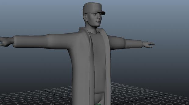Character Model Mesh