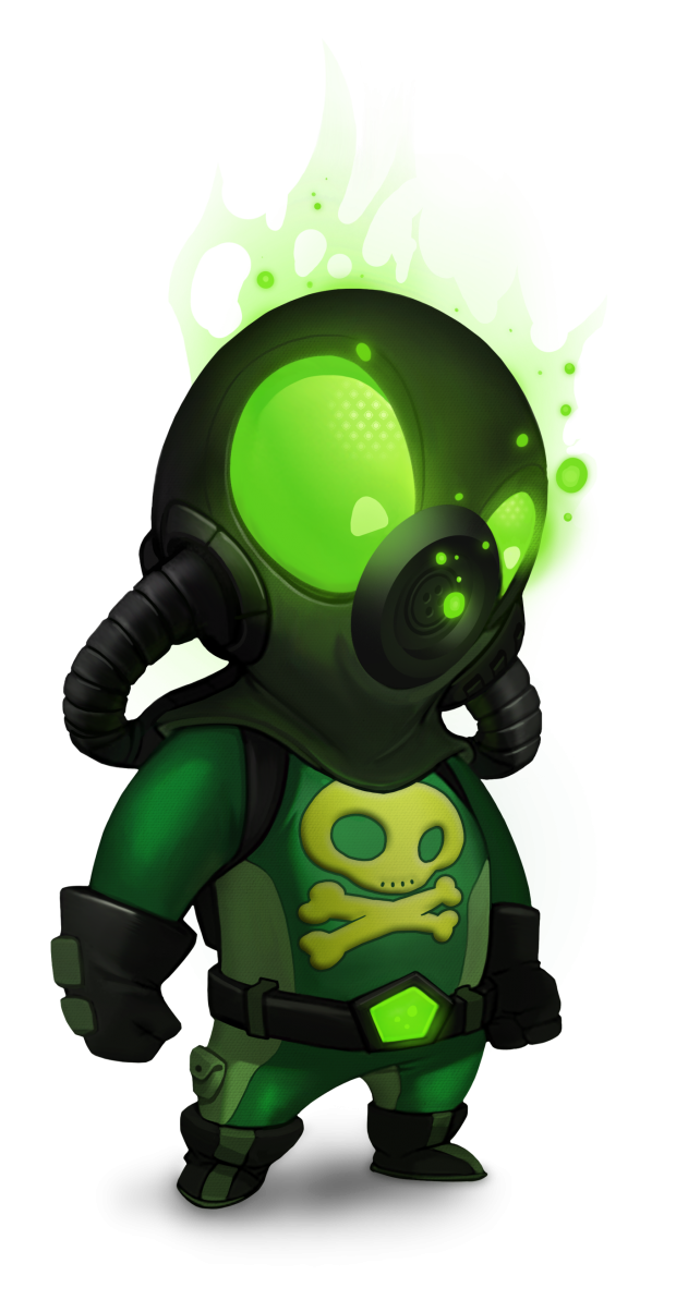 Burnstar Character Concept - Toxo