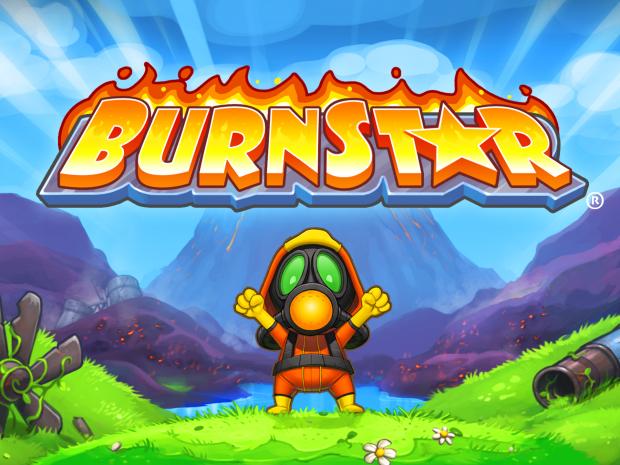 Burnstar Title Art