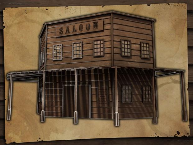 Saloon Building