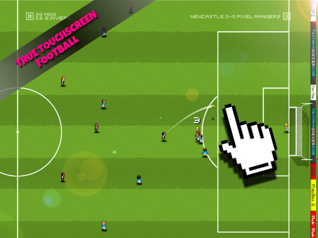 Total touchscreen football