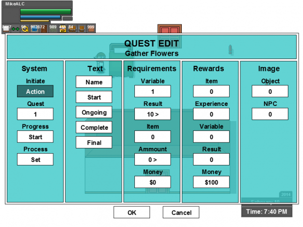 Quest Editor