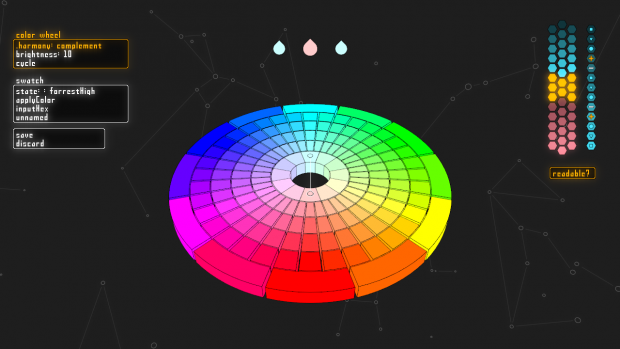 In game palette