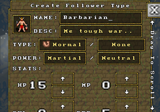 Creating a Follower Type