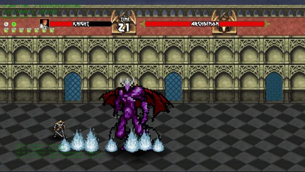 WIP Screenshot from Slay the Beast v0.0.1