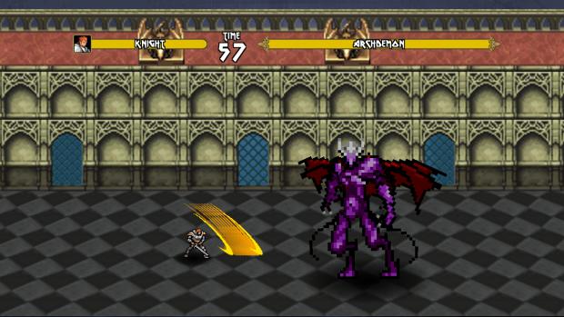 Knight Projectile Slash