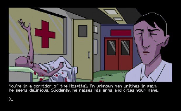 Text-based graphic adventure: $5 KS add-on!