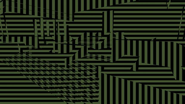 Crossing textures