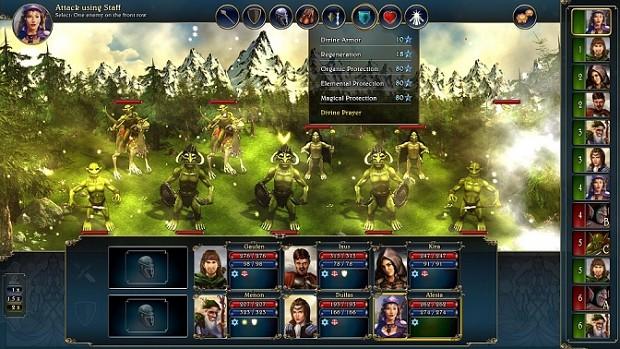 Updated GUI (Combat)