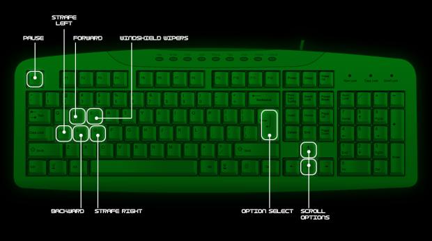DEET Defender - keyboard controls image - Indie DB