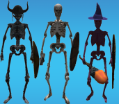 The three types of Skeletons