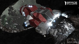 Space Engineers - Alpha Screenshot: Drill