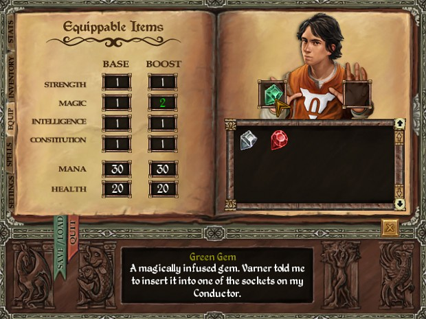 Mage's Initiation Screen 3