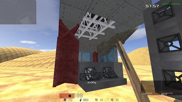 A small construction, Futuristic style