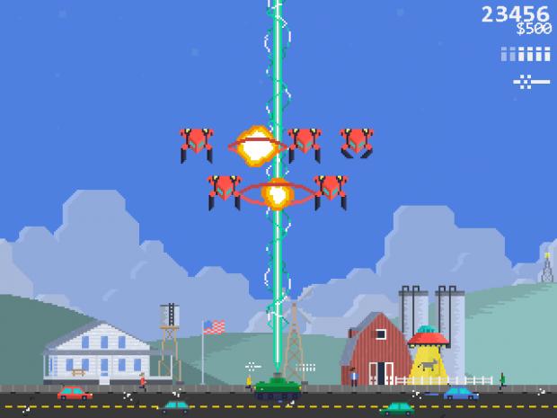 Pixel Raiders UI Mock