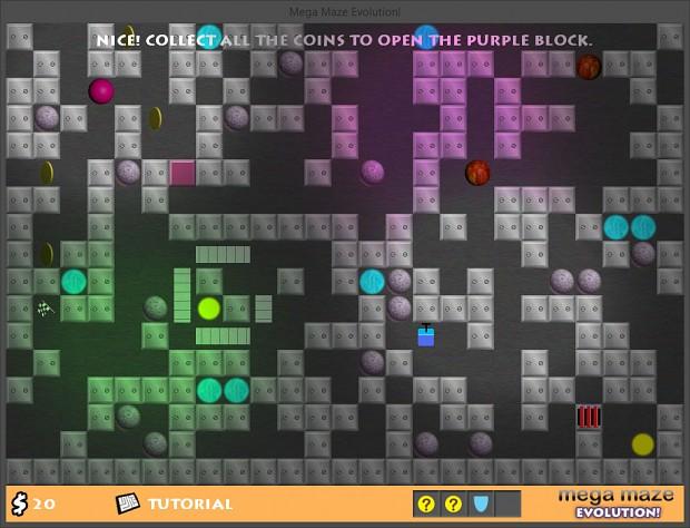 Mega Maze Evolution Beta Screenshot 1