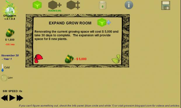 Growsim Screens 12/16/13