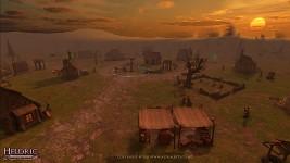 Heldric at sunset