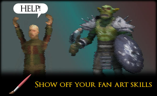 Heldric Fan artwork contest