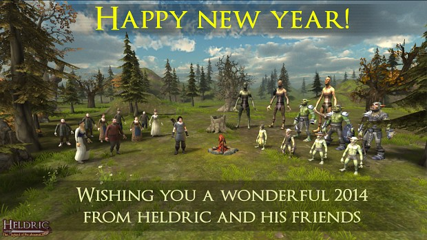 Happy new year from Heldric