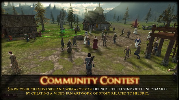 Heldric Fan artwork contest