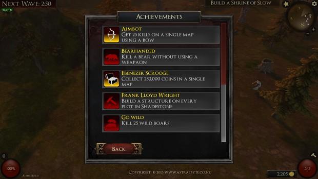New achievements