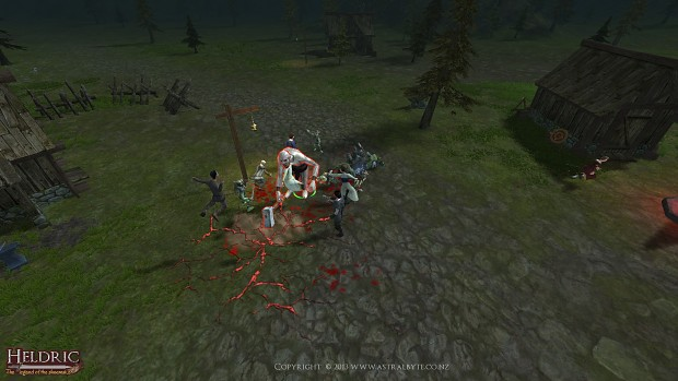 Troll AOE attack