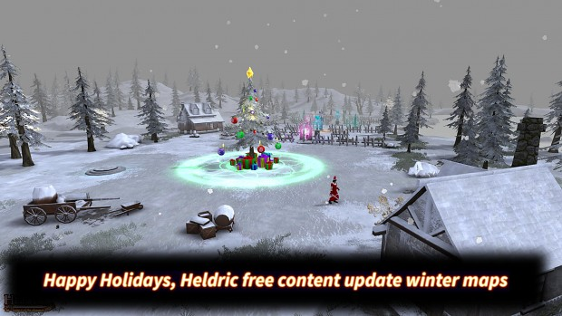 Heldric winter holiday update