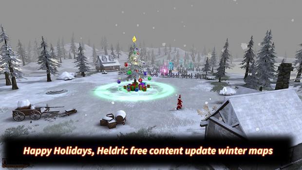 Heldric winter holiday update