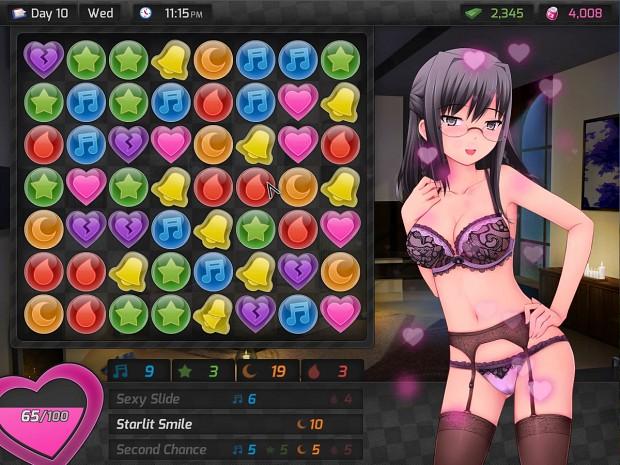 Porn puzzle game