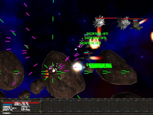 Galactic Elite in game screenshots